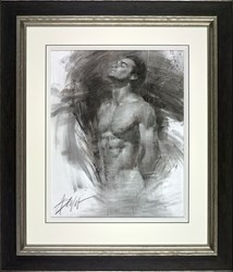 Navigation by Henry Asencio - Original on Paper sized 19x24 inches. Available from Whitewall Galleries